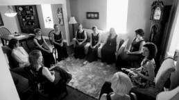 Jessica Graham meditation wedding party